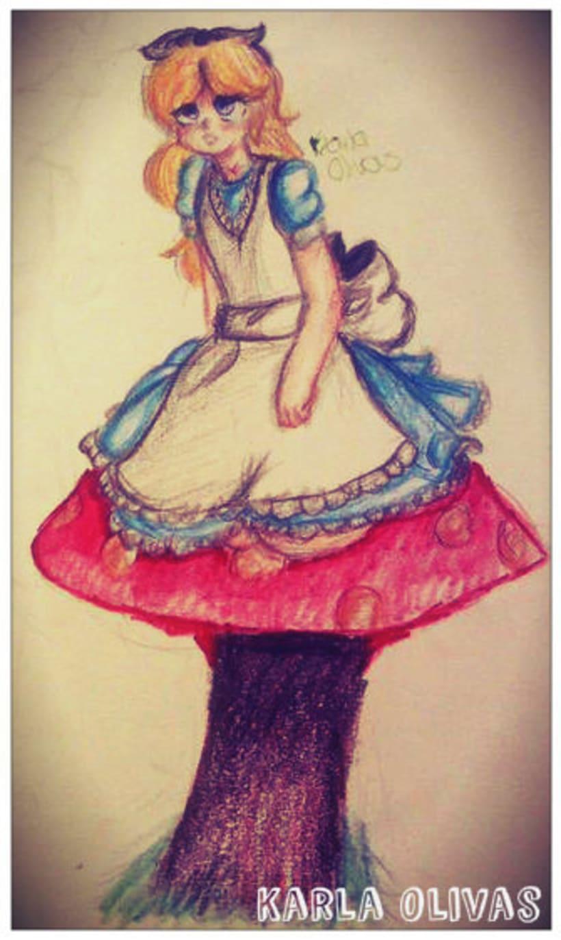 Alice in the Wonderland-KARLA OLIVAS 0