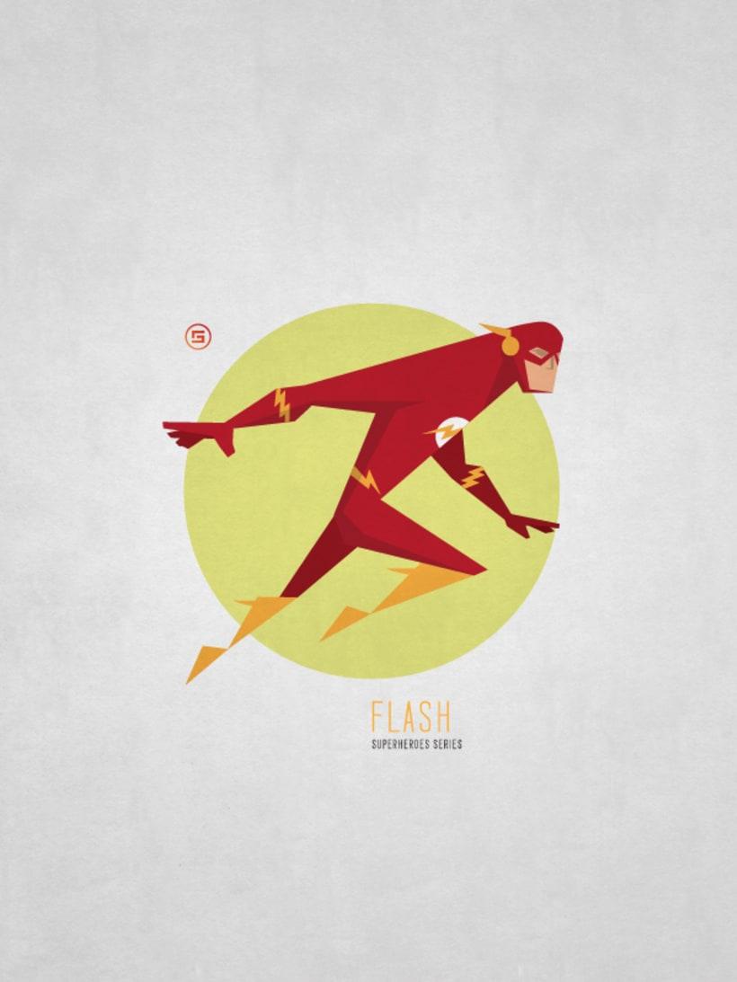 Minimal Superheroes 1