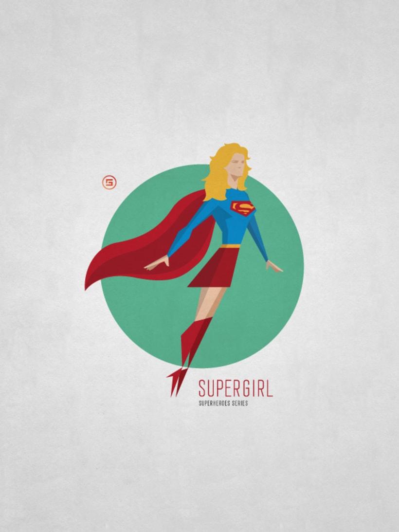 Minimal Superheroes 6