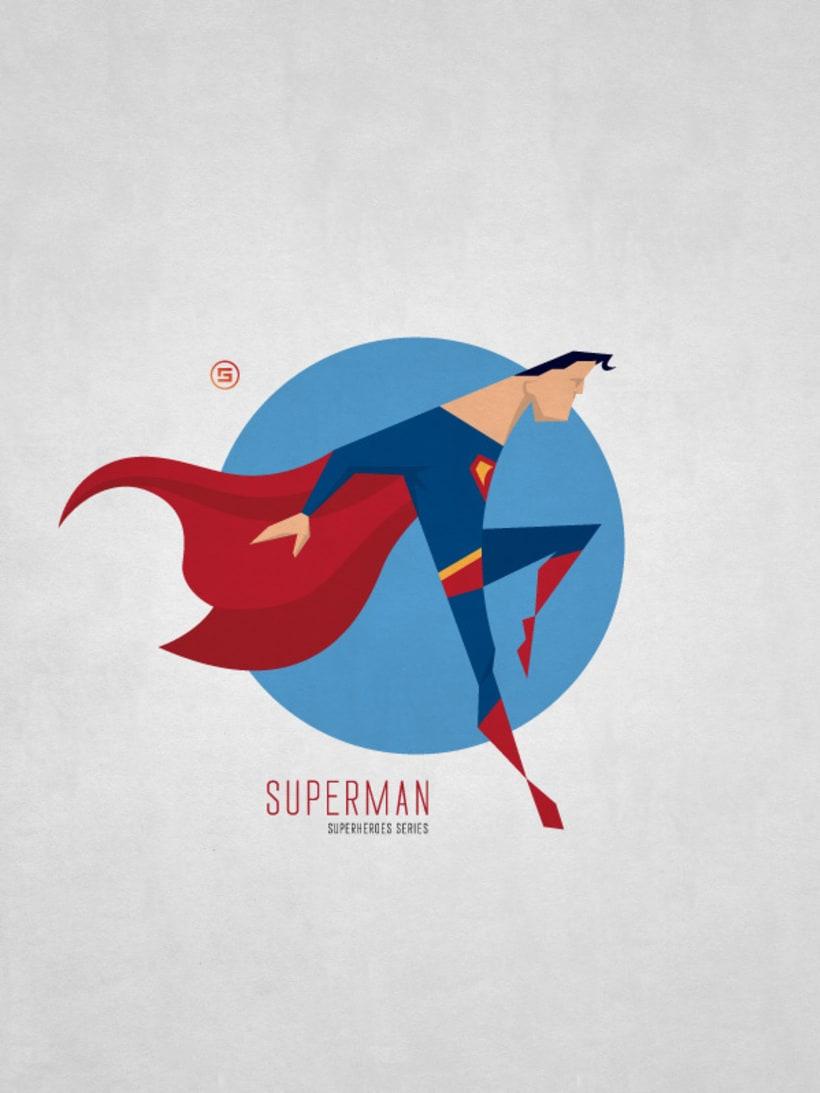 Minimal Superheroes 7