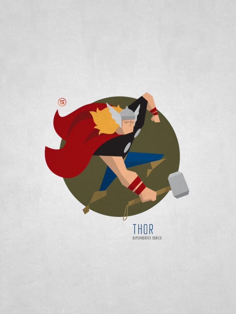 Minimal Superheroes 8