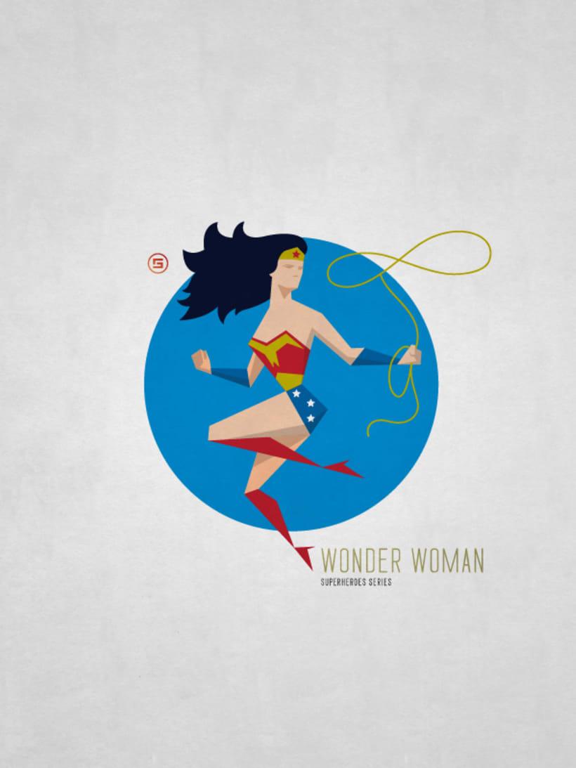 Minimal Superheroes 9
