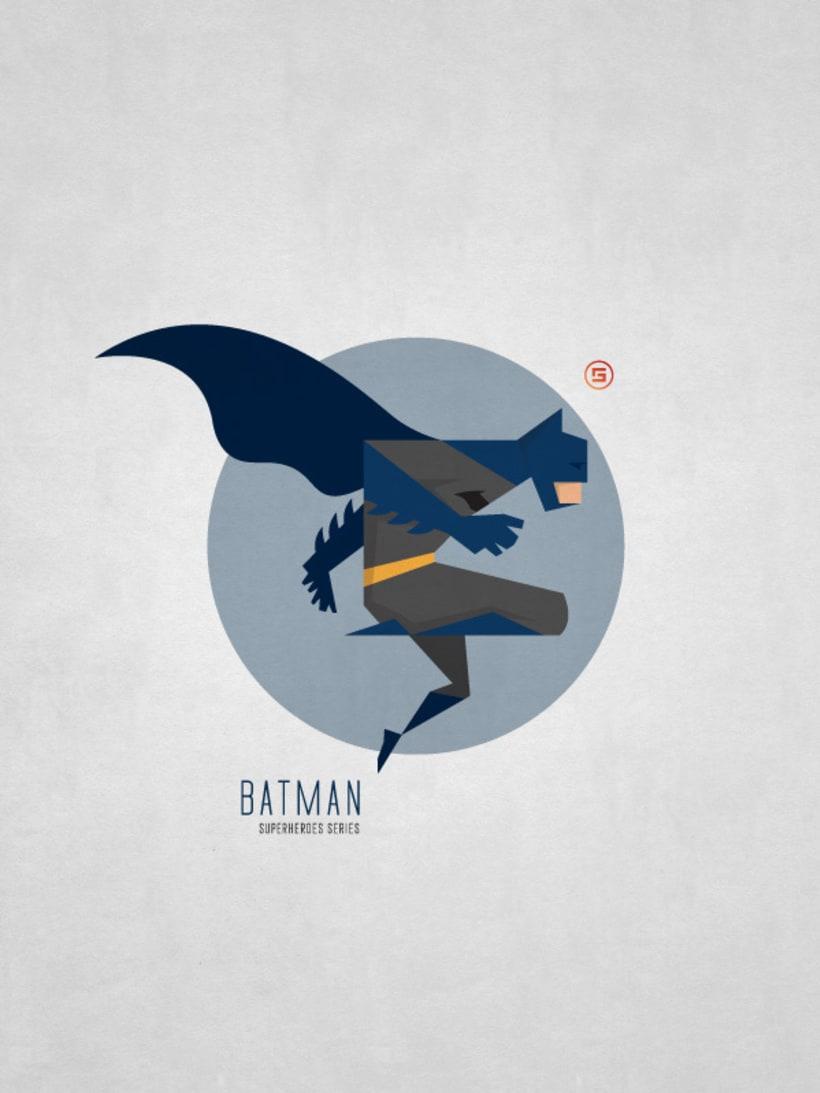 Minimal Superheroes 12