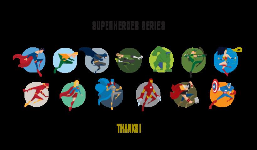 Minimal Superheroes 18