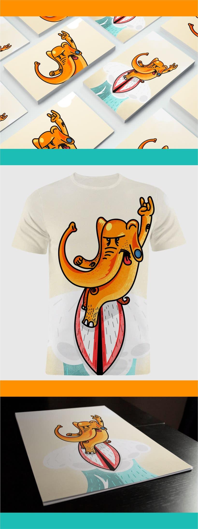Elephant Surf 2