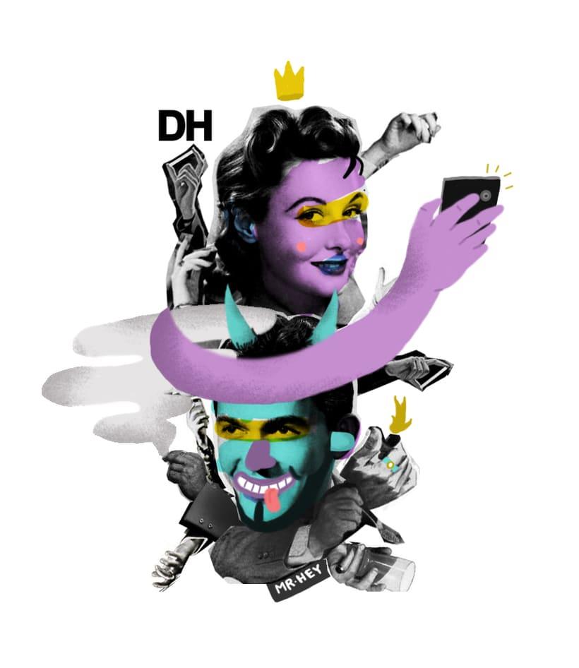 DH & Mister  Hey / Selfie! -1