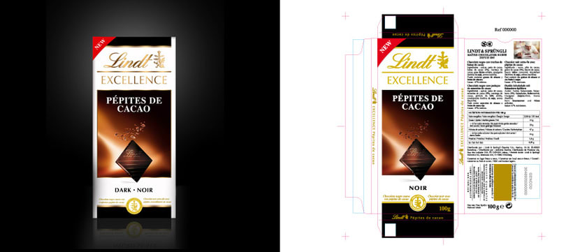 LINDT Chocolate Suizo  2