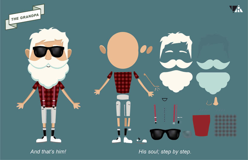 Grandpa dancing techno!  3