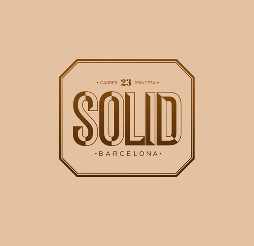 SOLID Restaurant Barcelona 1