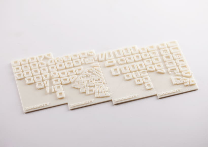 3D Printed Business Cards Zoomcity 3
