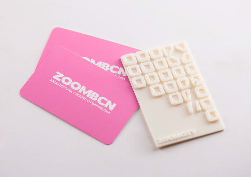 3D Printed Business Cards Zoomcity 0