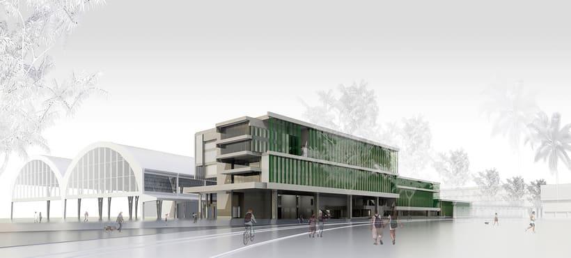 Renders Biblioteca del Estado en Barcelona -1