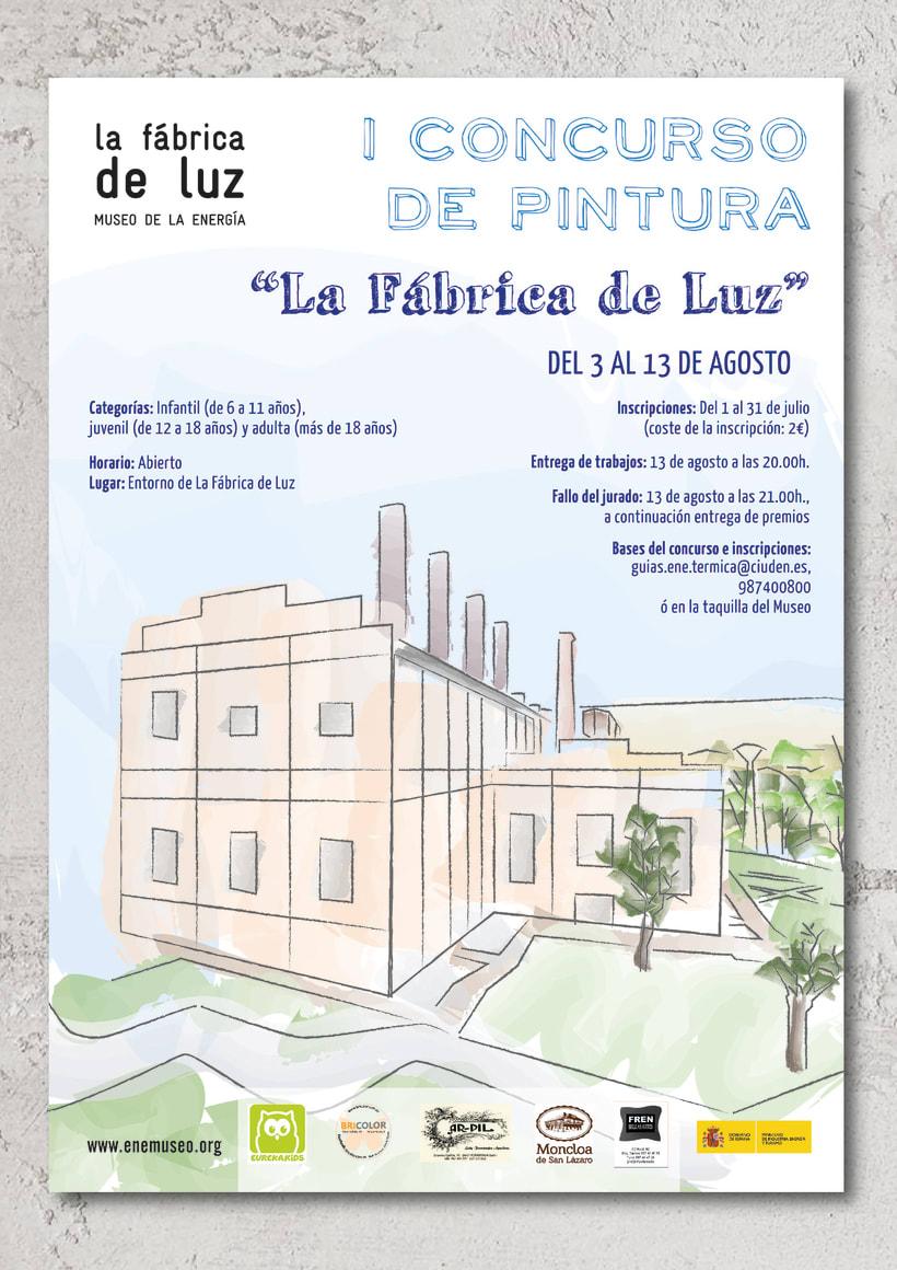 Materiales gráficos para promoción de eventos en el Museo 4