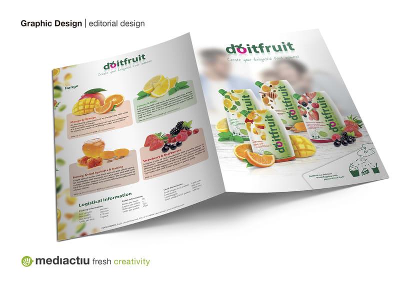 Proyecto global, editorial, web design, elementos promocionales 1