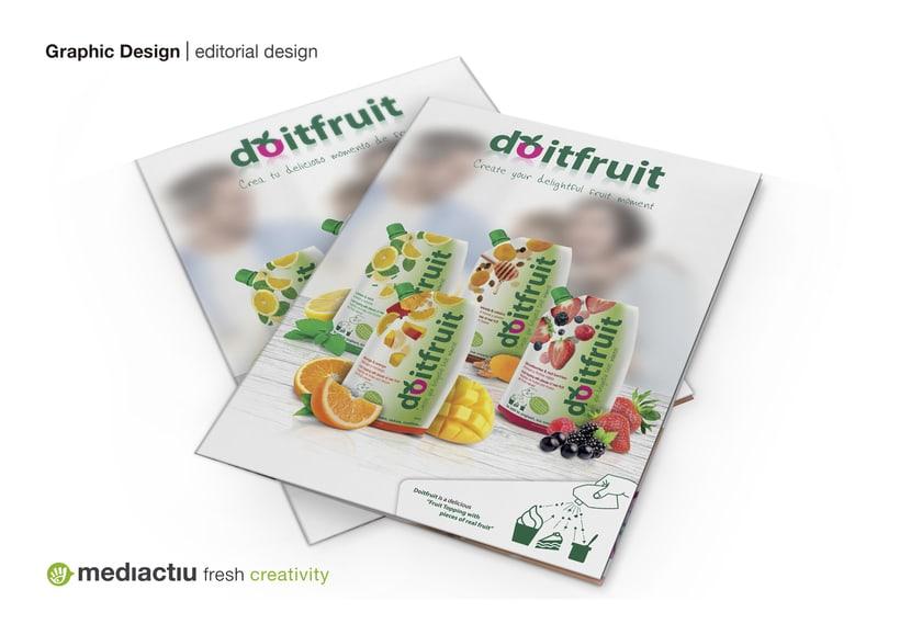 Proyecto global, editorial, web design, elementos promocionales 0