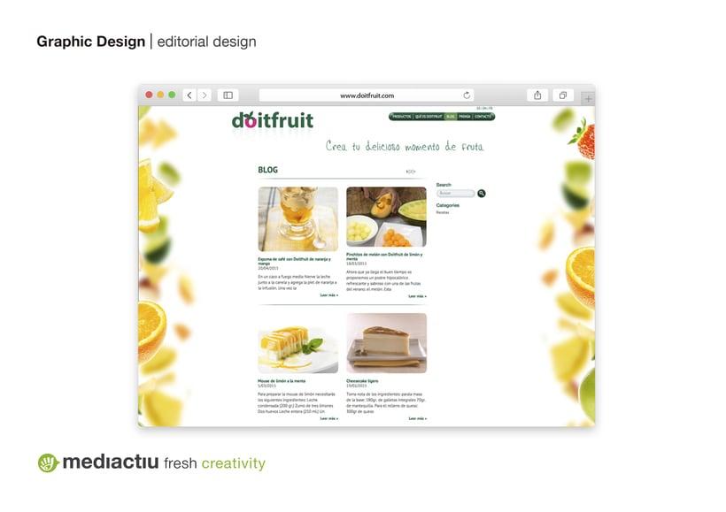 Proyecto global, editorial, web design, elementos promocionales 4