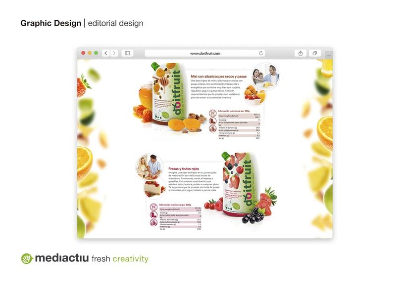 Proyecto global, editorial, web design, elementos promocionales 5