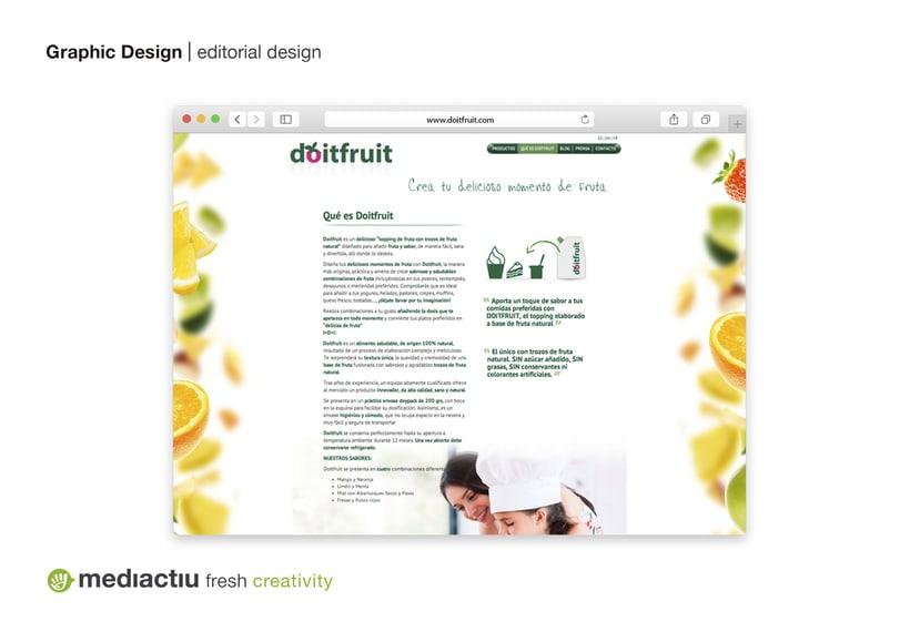 Proyecto global, editorial, web design, elementos promocionales 6