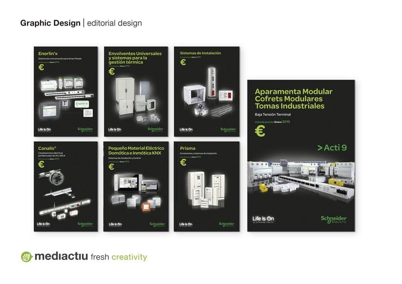 Portadas catálogos de tarifas de Schneider Electric 0