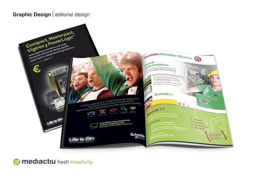 Portadas catálogos de tarifas de Schneider Electric 2