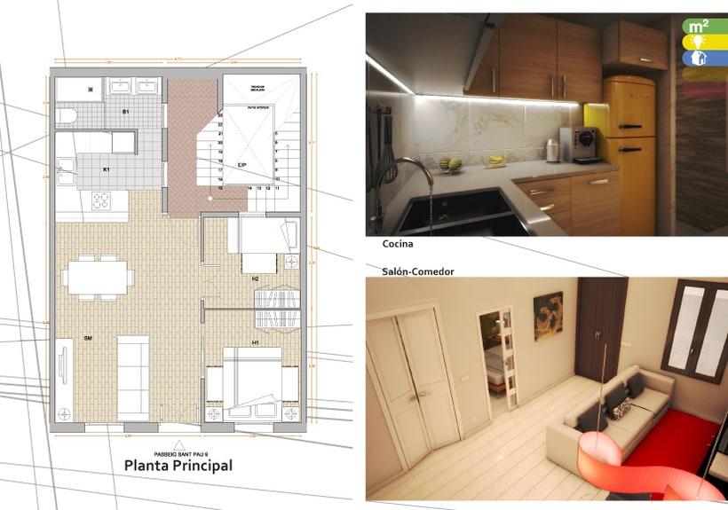 3D Passatge San Pau 9 1