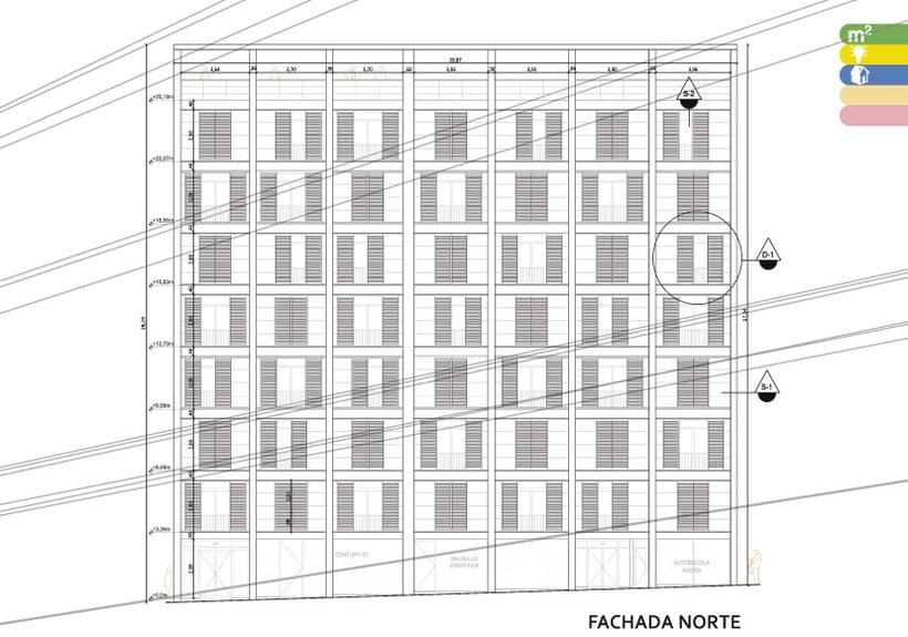 Fachada Cartagena 243-245 0