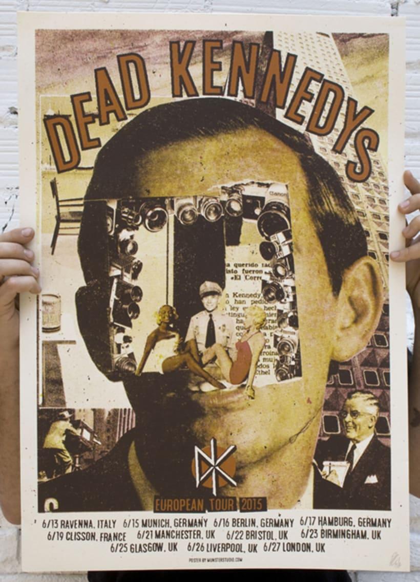 Dead Kennedys cartel de gira  2