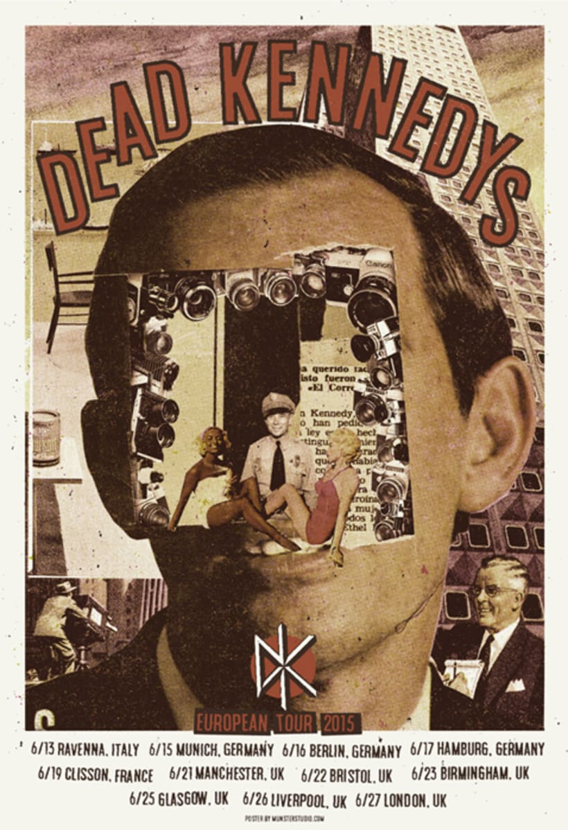Dead Kennedys cartel de gira  0