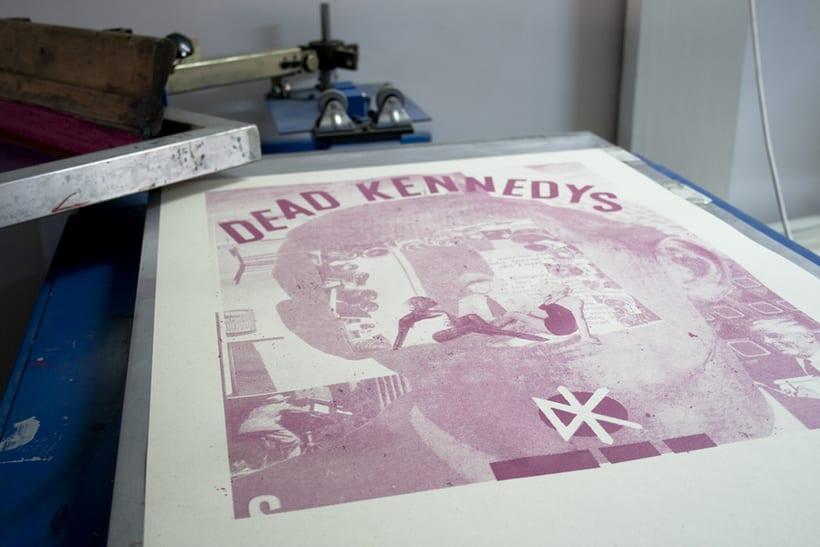 Dead Kennedys cartel de gira  6