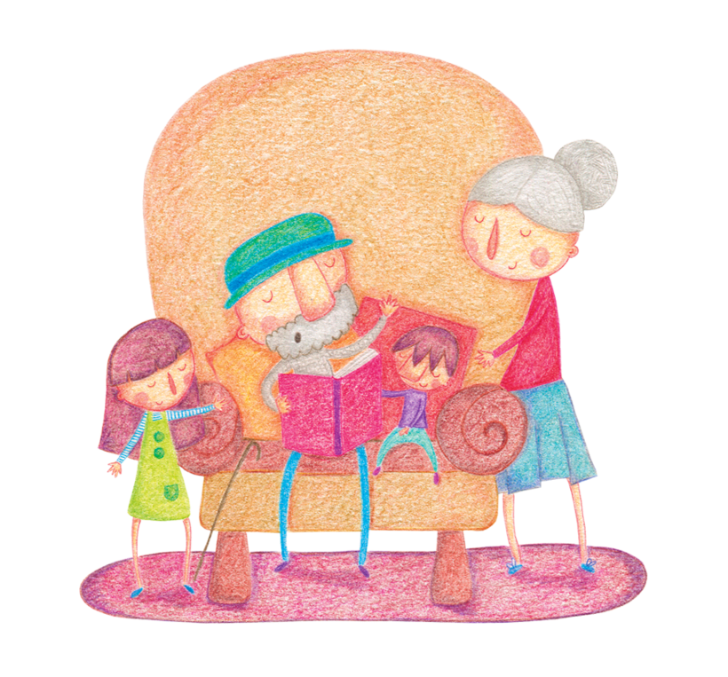Cuentos para leer con los abuelos y las abuelas 2