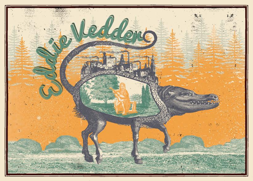 Poster Eddie Vedder 2