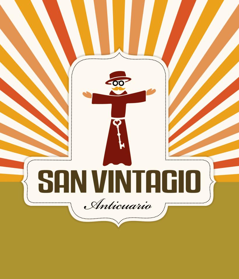 Marca, logo y personaje para San Vintagio -1