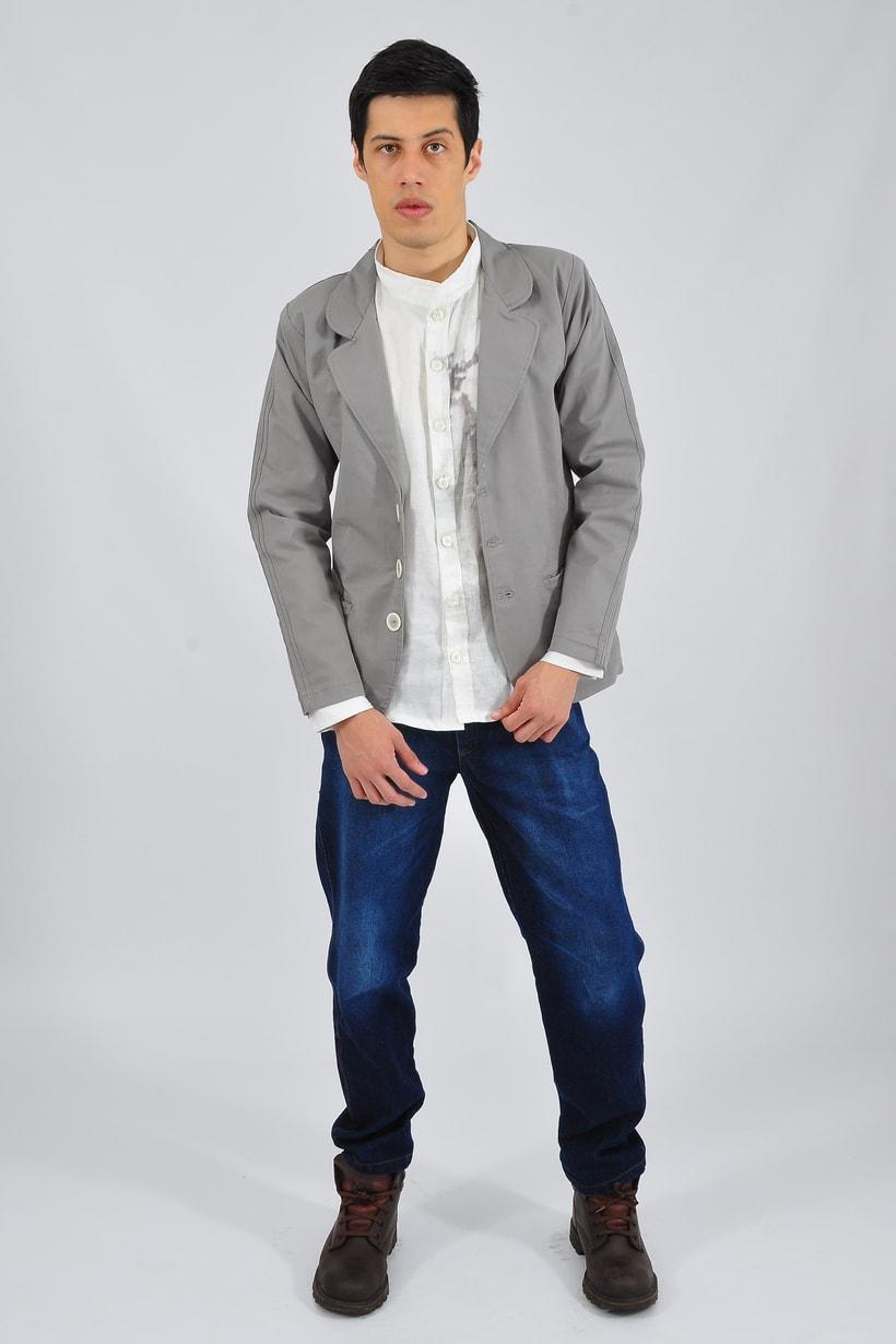 Diáfano/ Vestuario masculino 2