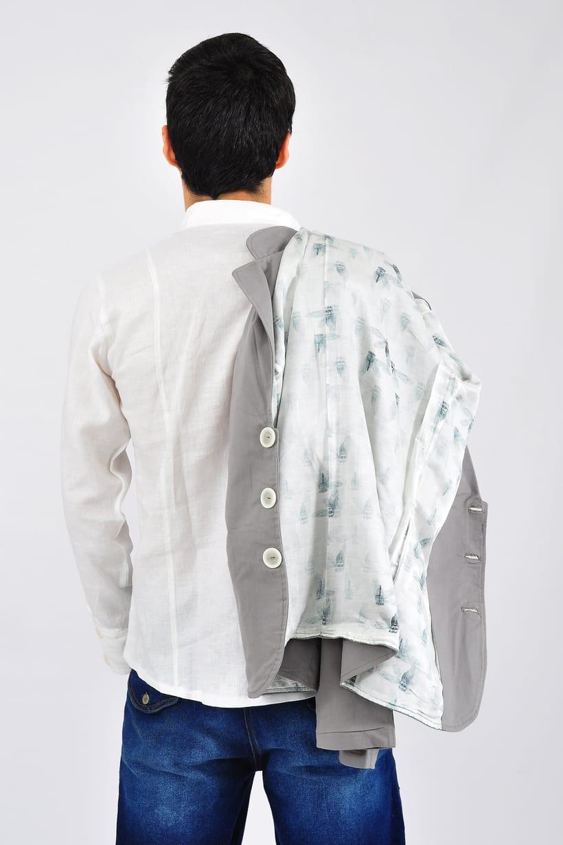 Diáfano/ Vestuario masculino 5