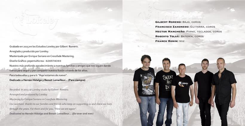 Diseño para grupo de música LORELEY 5