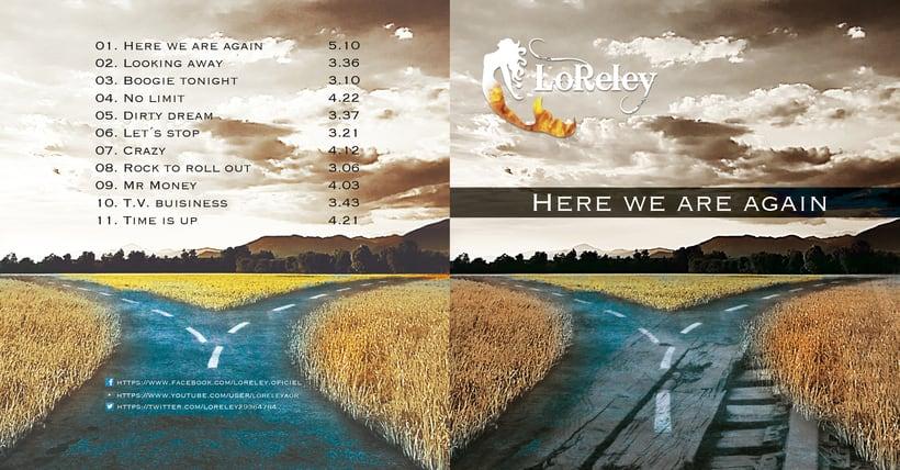 Diseño para grupo de música LORELEY 2