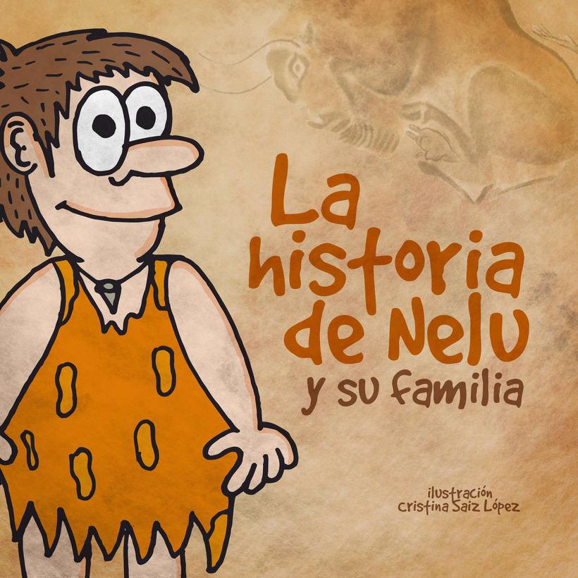 """Ilustraciones del libro """"La historia de Nelu y su familia"""" 0"""