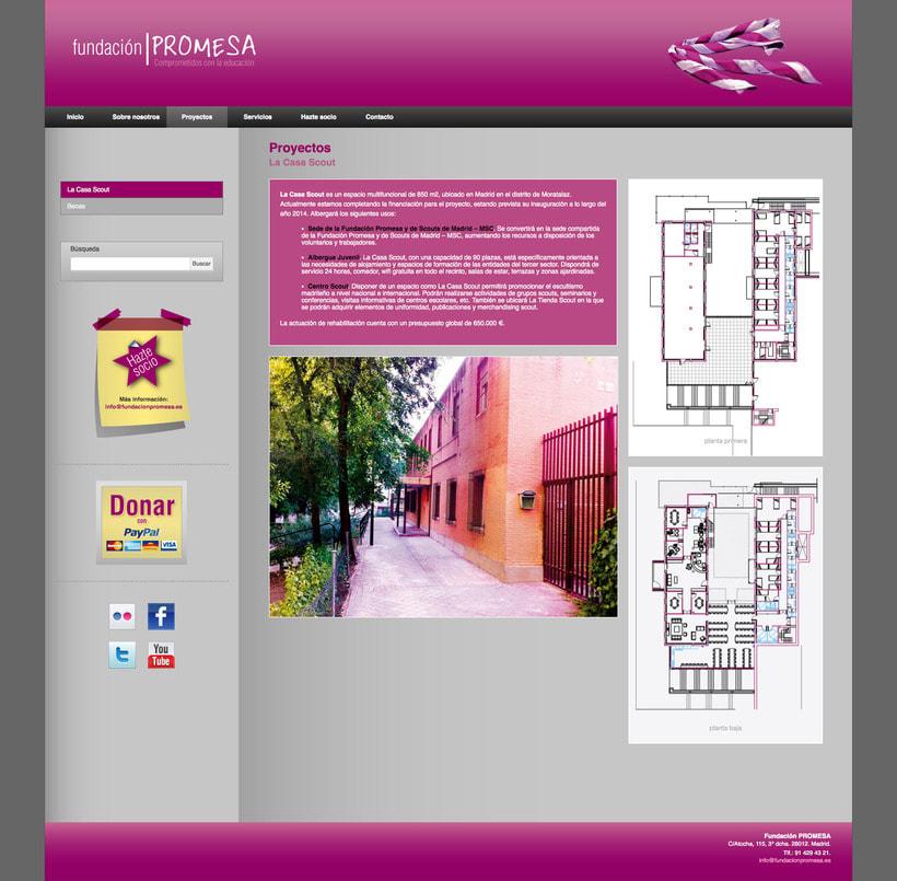 Fundación Promesa (Wordpress) 2