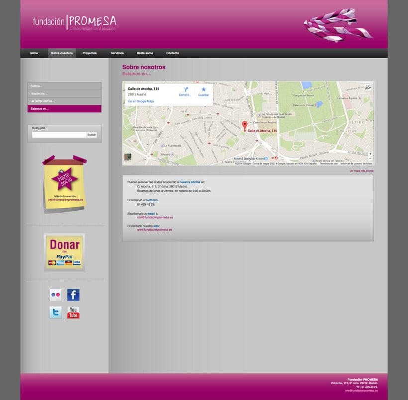 Fundación Promesa (Wordpress) 3