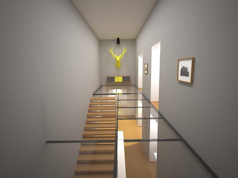 Interior realizado en 3D max - vray -1