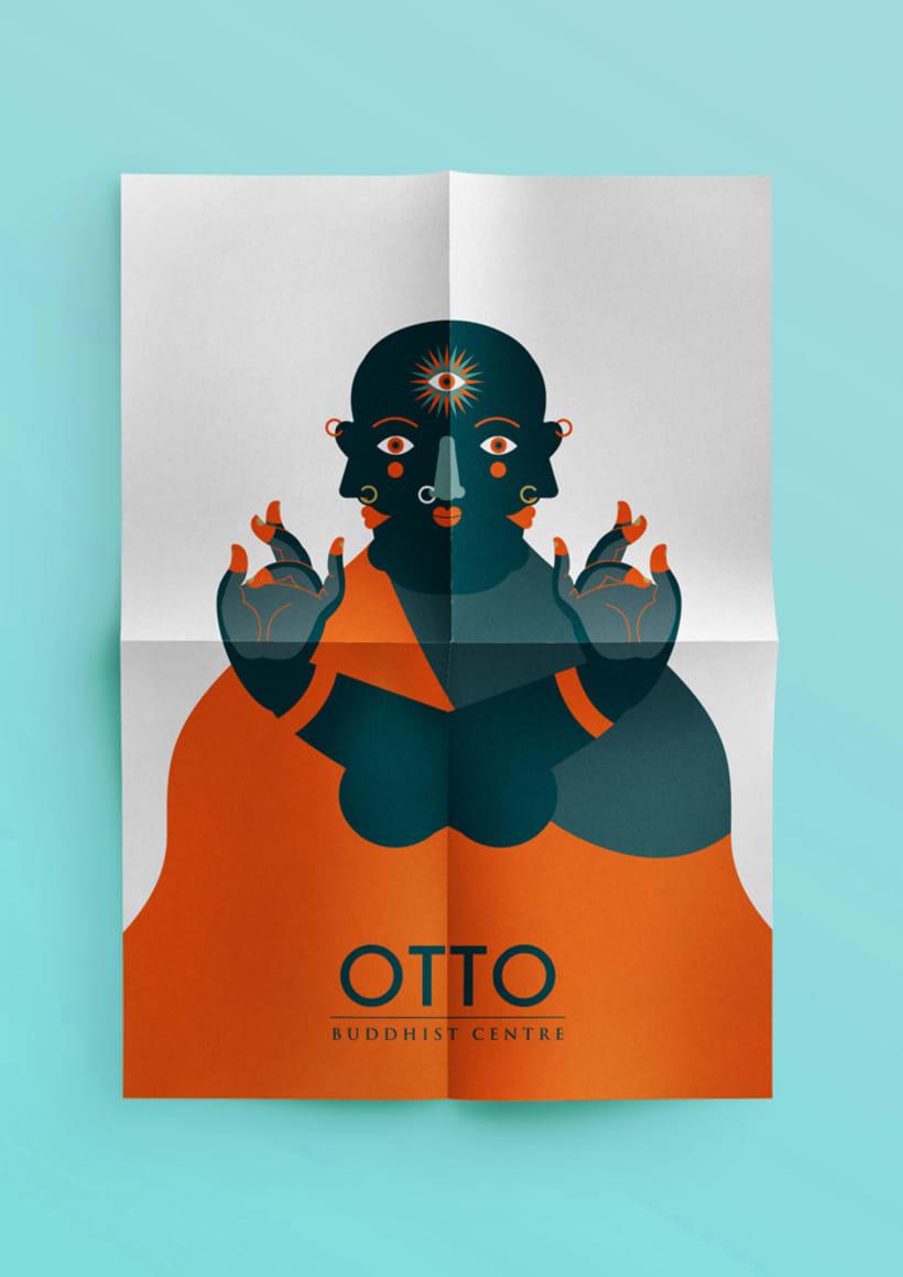OTTO. Buddhist Centre 13