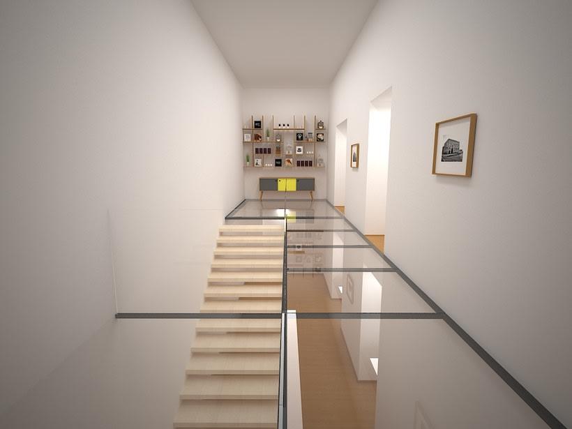 Interior realizado en 3D max - vray 0