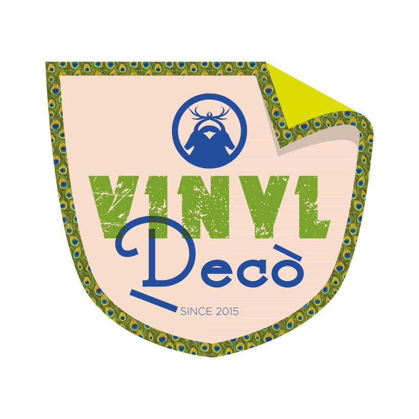 VinylDecò Studio. Diseños exclusivos para la decoración de interiores y exteriores en vinilo. 0