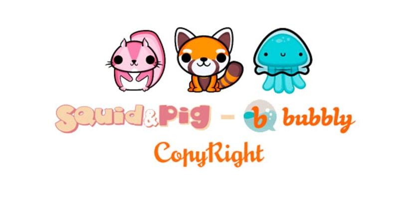 Stickers animados para Bubbly app 34