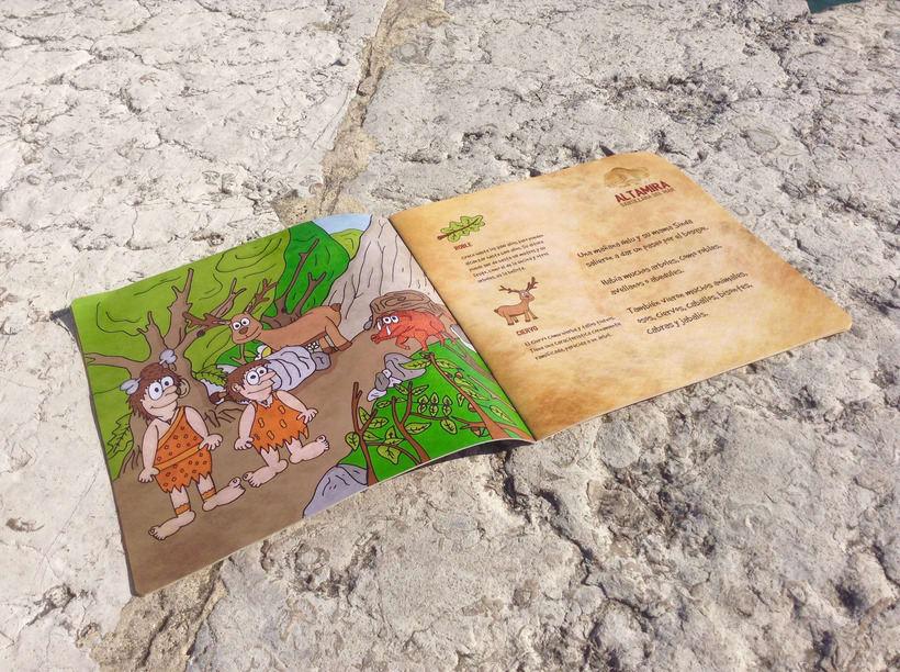 """Ilustraciones del libro """"La historia de Nelu y su familia"""" 3"""
