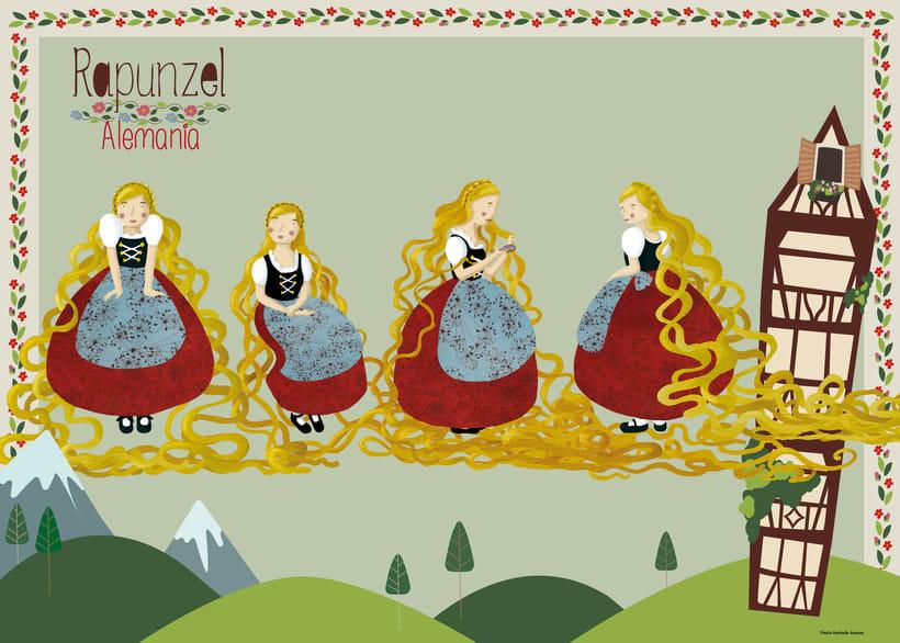 Diseño de personaje: Rapunzel -1