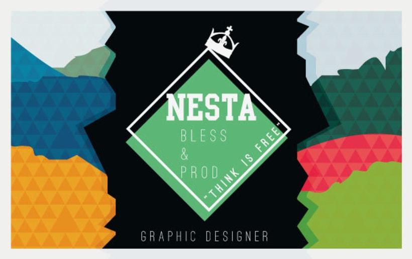 Personal Card Nesta Brand 2