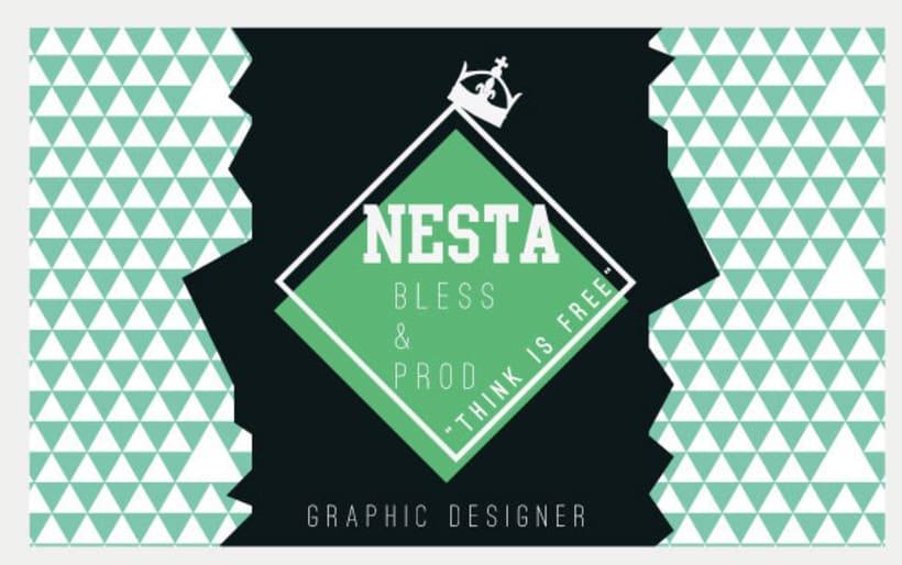 Personal Card Nesta Brand 4