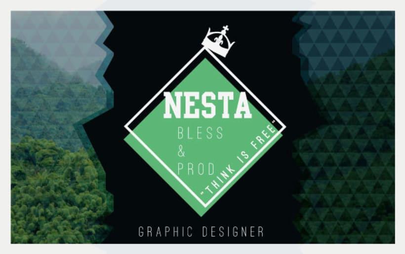 Personal Card Nesta Brand 3