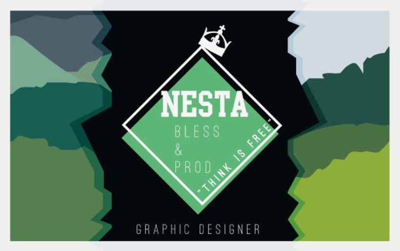 Personal Card Nesta Brand 0